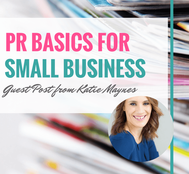 PR Basics for Small Business